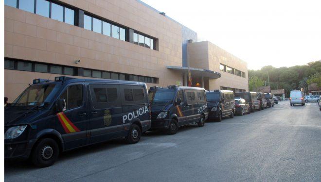 Gran afluencia de miembros de la Policía Nacional en nuestra ciudad