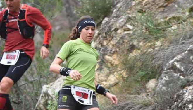 Ana Tauste vencedora de la carrera de Trail disputada en Riópar