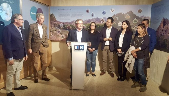 Ramón García anunció la posible desaparición del actual Museo Comarcal