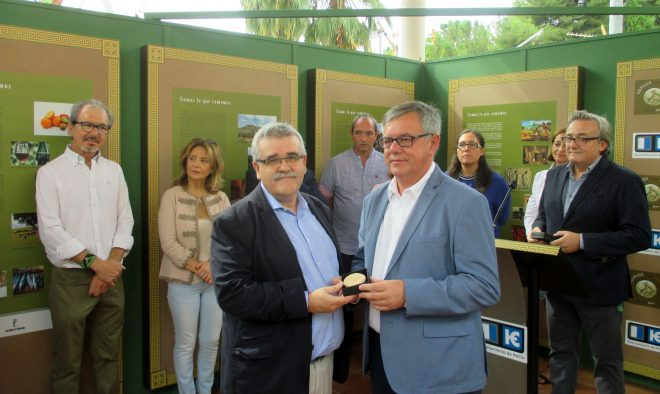 Ramón Izquierdo con Ramón García / EFDH.