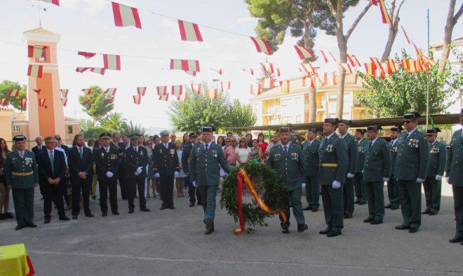 Actos en honor de la Patrona de la Guardia Civil / EFDH.