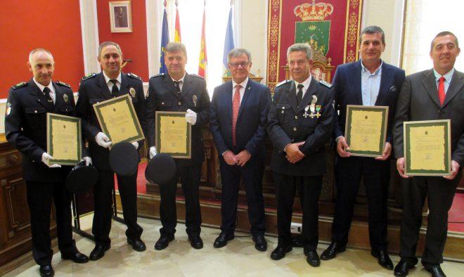Acto de conmemoración del San Rafael, Patrono de la Policía Local / EFDH.