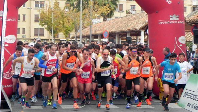 """Antonio Briz, ganador de la Media Maratón Honorio Soria Cifo """"Ciudad de Hellín"""""""