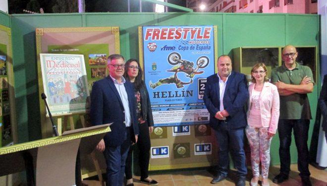 La final de la Copa de España de Freestyle  de Motocross llega a Hellín