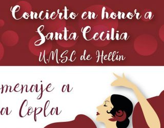 La Unión Musical Santa Cecilia de Hellín realiza su tradicional concierto en honor a Santa Cecilia