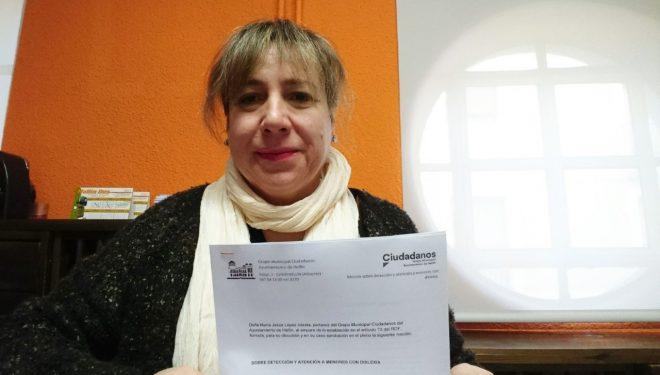 Mª Jesús López someterá a debate del Consistorio una iniciativa para favorecer la detección y atención de menores con dislexia