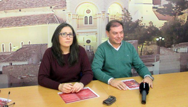 """Presentación  del concurso """"Escaparates Navideños Hellín 2017"""""""