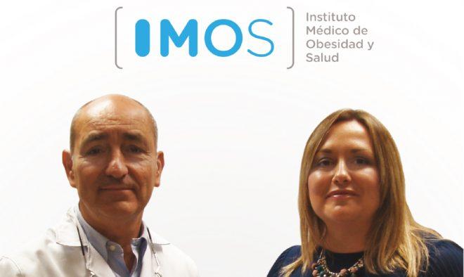Dr. Carlos Durán Escribano y Silvia Hernández García, Directora de Clínica IMOS