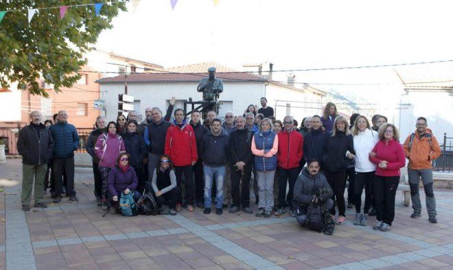 Participantes en la Ruta de Riópar.