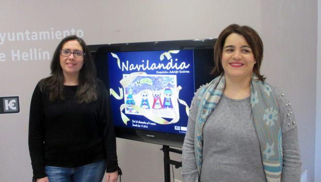 Las concejalas Mª Dolores Vizcaíno y Fabiola Jiménez presentan la programación navideña