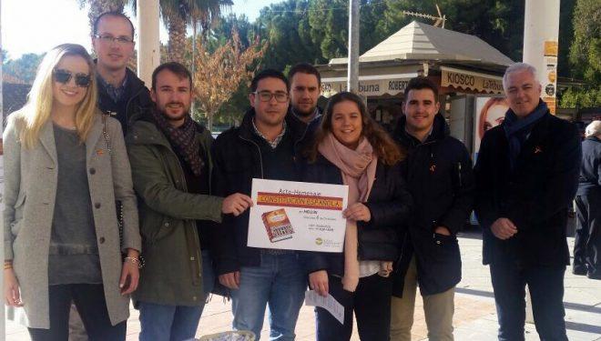 NNGG CLM conmemora el aniversario de la Constitución Española