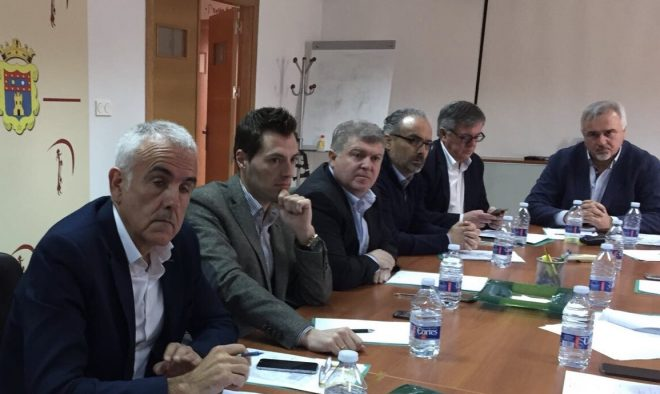Reunión de alcaldes llevada a cabo en Moratalla