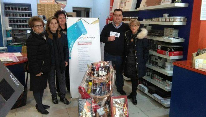 Sorteo de la cesta de Navidad de la Asociación de Fibromialgía