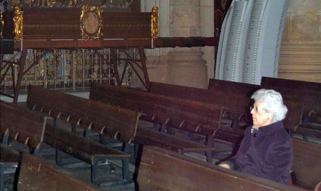 Marina, la sacristana