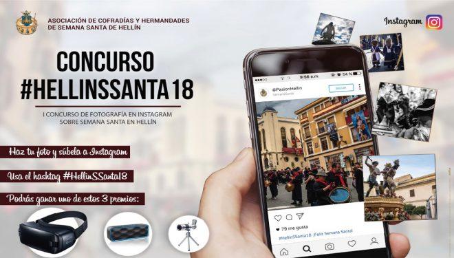 Primer Concurso de Fotografía de Instagram sobre la Semana Santa en Hellín