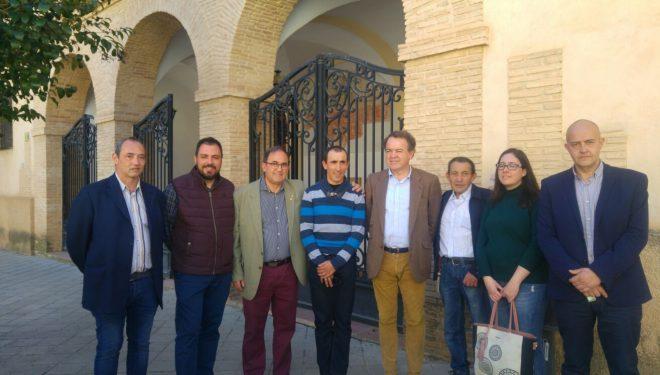 El Director General de Bellas Artes y Patrimonio llega a Hellín para conocer la Tamborada