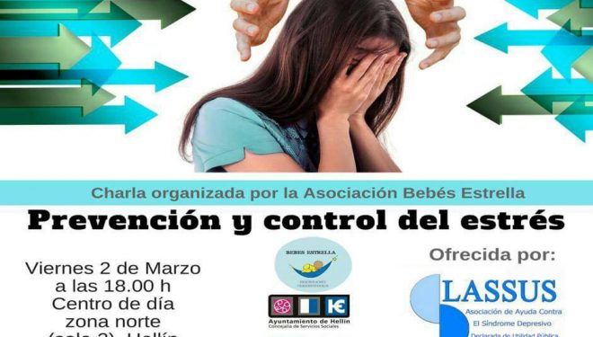"""Charla informativa bajo el título """"Prevención y control del estrés"""""""
