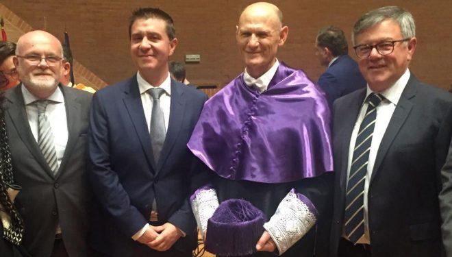 Juan Carlos Izpisúa Belmonte investido Doctor Honoris Causa por la UCLM