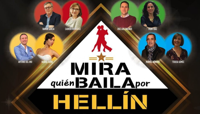 Agotadas las entradas para la gala «Mira quien baila por Hellín»