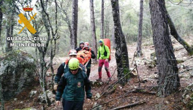 La Guardia Civil auxilia a 35 participantes de una prueba deportiva de montaña celebrada en la sierra del Segura