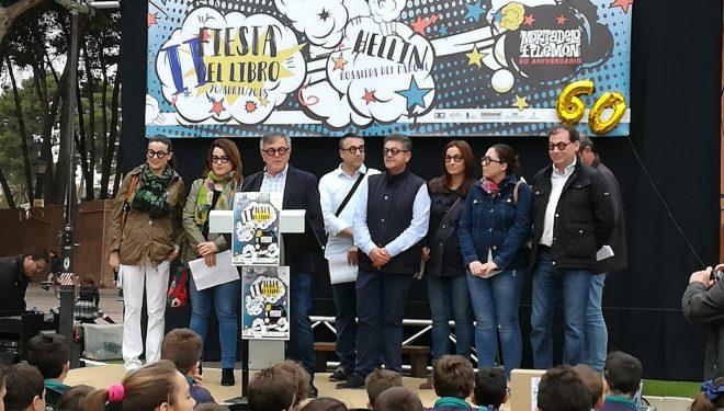 Inaugurada la Fiesta del Libro instalada en la Rosaleda del Parque