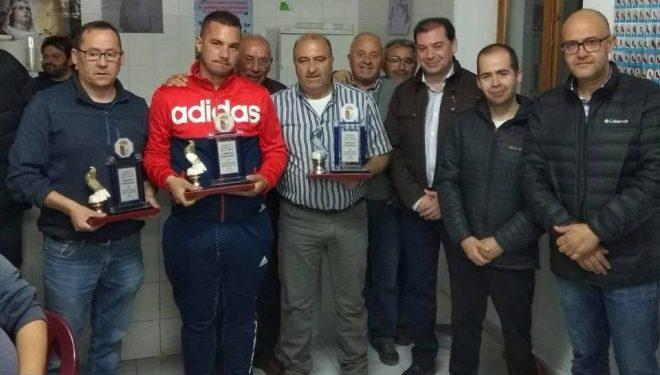 El palomo «26 de septiembre» vencedor del Campeonato Intercomarcal de Colombicultura