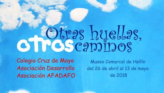 Exposición del taller de pintura del Colegio Cruz de Mayo, la Asociación Desarrollo y Asociación AFADAFO de Fuente Álamo y Ontur