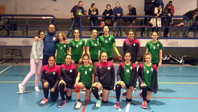 Excelentes resultados obtenidos por el Club Voleibol Ciudad de Hellín durante el fin de semana