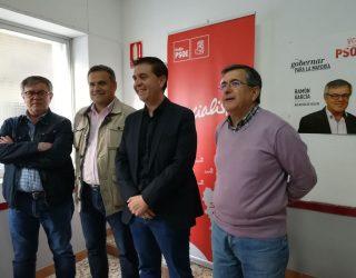 Ramón García pide que se frene el expolio sobre el agua por parte del gobierno de la Nación y la CHS