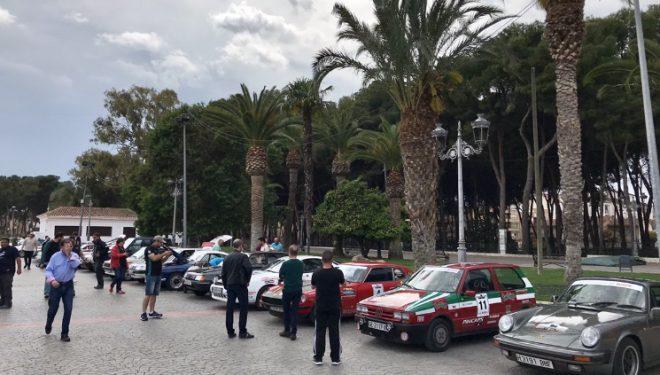 La Spain Classic Rally hizo parada en Hellín