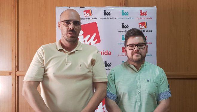 El coordinador provincial de IU advierte al PSOE que no van a permitir que se siga ninguneando a su coalición en el Ayuntamiento