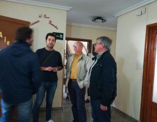 Entrega de las llaves del nuevo Centro de Servicios Sociales en el barrio del Calvario