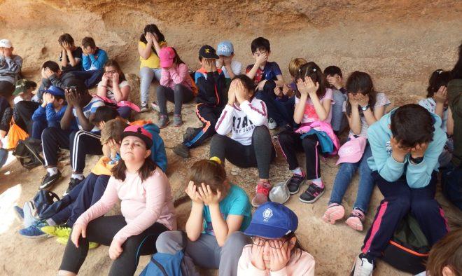 Niños en el Tolmo de Minateda