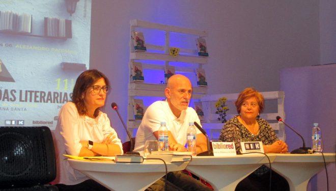 Inauguradas las XI Jornadas literarias con la presencia de Alejandro Palomas