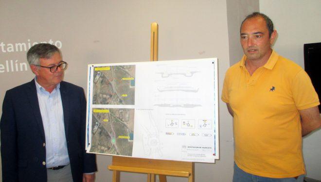 Se inician las obras para la construcción de una nueva rotonda en la carretera provincial AB-404