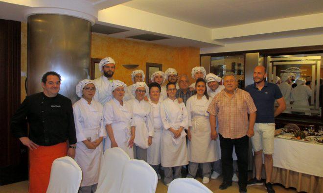 Alumnos de un curso de Cocina / EFDH.