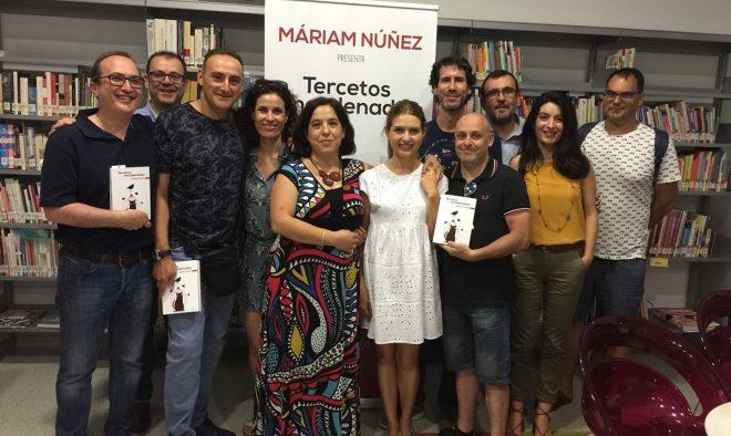 Márian Núñezpresenta su opera prima, Tercetos encadenados / EFDH.