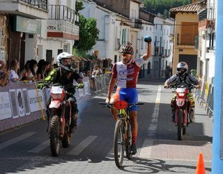 Quinta victoria de Alberto López en el Circuito Provincial de Mountain Bike