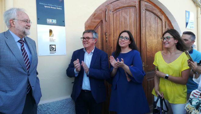 La Biblioteca Pública de Isso ya lleva el nombre del académico de la Lengua, Ignacio Bosque Muñoz