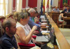 María Jesús López, sacó  adelante su moción sobre el tráfico ferroviario