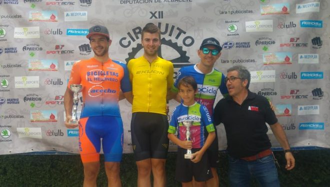 Octavo podio consecutivo para Alberto López