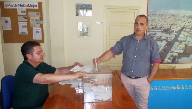 Votaciones para la elección del nuevo Presidente del Partido Popular