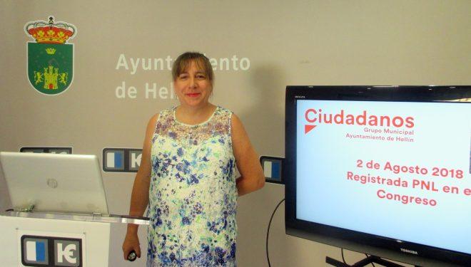 Ciudadanos presenta una Proposición no de Ley sobre la línea ferroviaria Albacete-Hellín-Cieza
