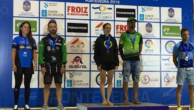 Sara Castillo campeona de España de Triatlón