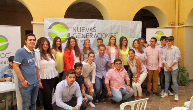 El Congreso local de Nuevas Generaciones confirma como presidente a Ana García