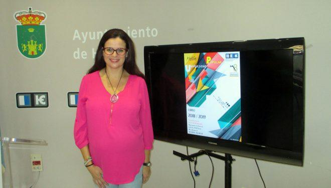 Beatriz Jiménez presenta los cursos de la Universidad Popular para 2018-2019
