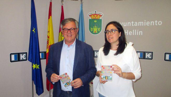 Ramón García y Fabiola Jiménez presentan el programa de Feria