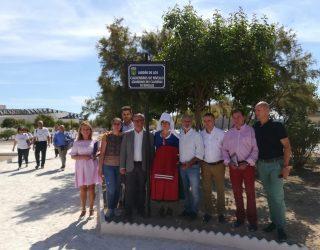Los caldereros de Rivello ya tienen un jardín con su nombre en Hellín
