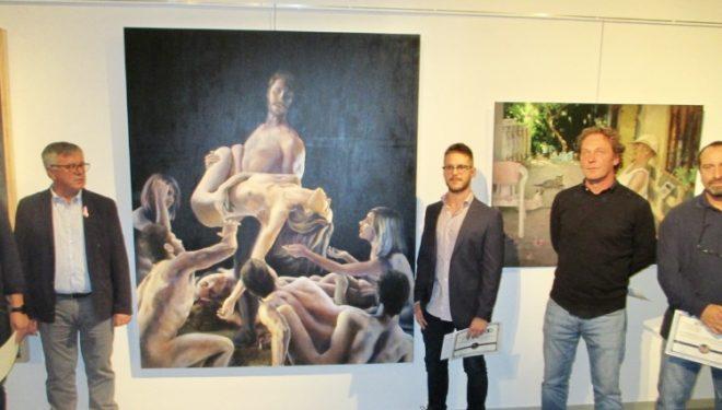 """Francisco Fernández Ruiz, primer premio en el Certamen Nacional de Pintura """"Ciudad de Hellín"""""""