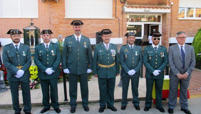 La Guardia Civil celebró el día de su Patrona